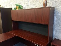 office desk with hutch Delafield